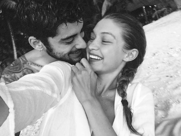 Gigi Hadid e Zayn Malik (Foto: Reprodução/Instagram)