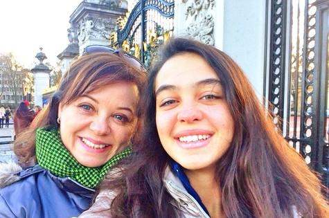 Élida e a filha, Sabrina (Foto: Arquivo pessoal)
