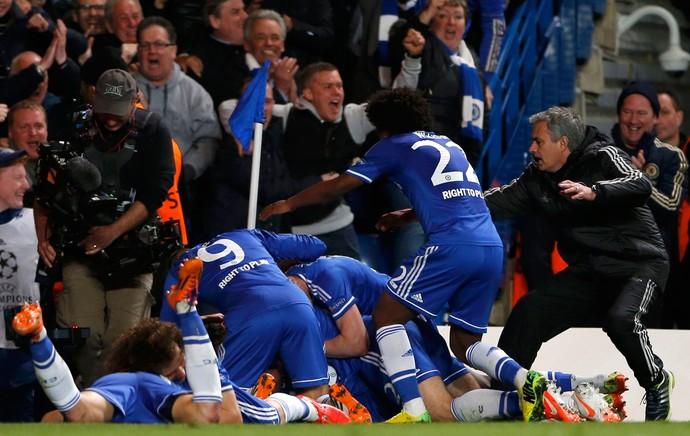 Chelsea x PSG (Foto: Reuters)