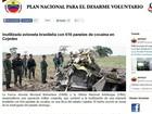 Avião abatido na Venezuela pode ter provocado a morte de dois brasileiros