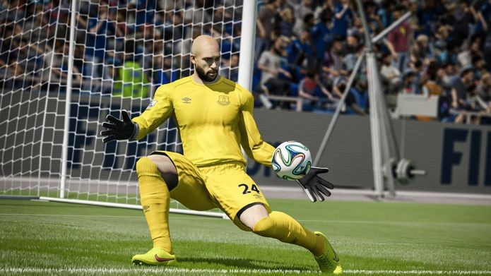 Jogador pode mandar goleiro sair do gol. (Foto: Divulgação)