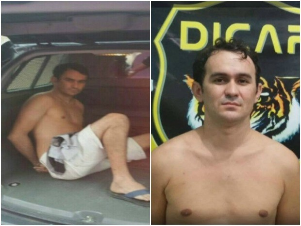 Valdinei está preso na Cadeia Pública de Boa Vista por roubo e furto (Foto: Reprodução/ TV Roraima)