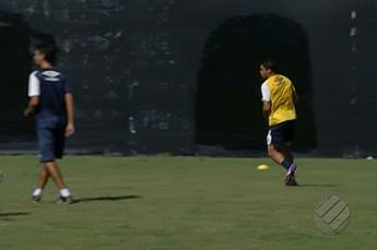 Rafael Paty, treino Remo (Foto: Reprodução/TV Liberal)