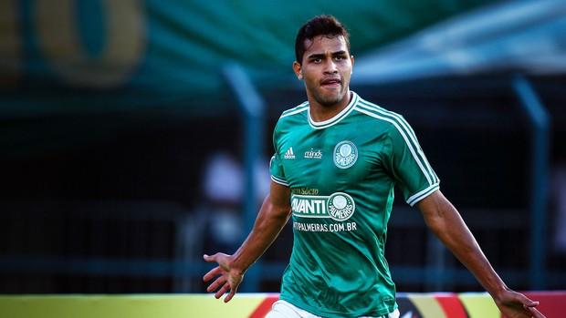 Alan Kardec gol Palmeiras (Foto: Wagner Meier / Agência Estado)
