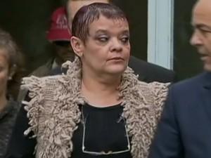 Virgínia Soares de Souza, médica acusada de apressar a morte de pacientes em UTI (Foto: Reprodução Globo News)