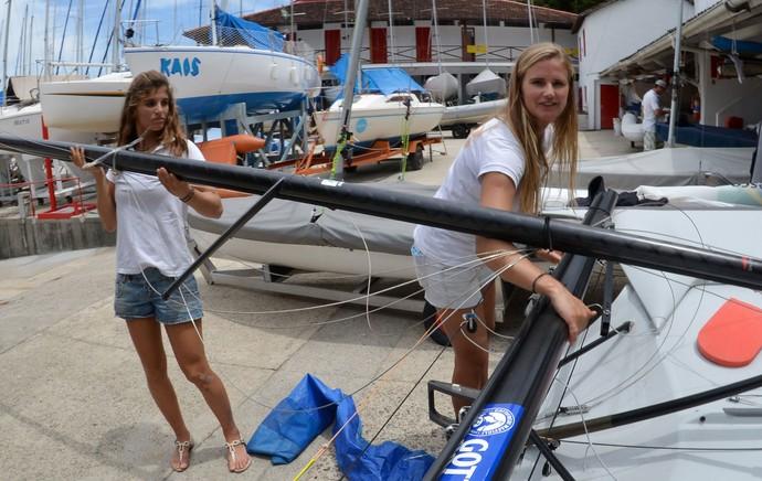 Martine Grael e Kahena Kunze - Vela Olímpica (Foto: André Durão )