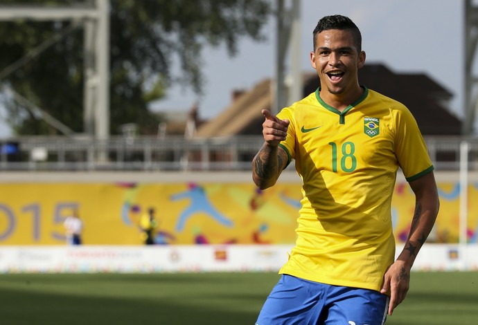 Luciano Brasil x Panamá  pan-americano 2015 (Foto: Washington Alves/Exemplus/COB)