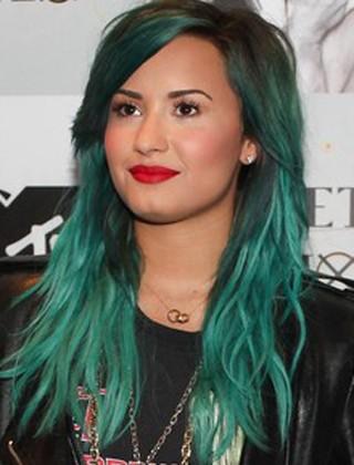 Demi Lovato-Enquete cabelo (Foto: Manuela Scarpa/FotoRio News)