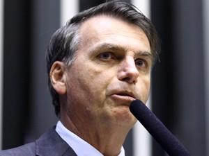 O deputado federal Jair Bolsonaro (PP-RJ), no plenário da Câmara (Foto: Zeca Ribeiro/Ag.Câmara)