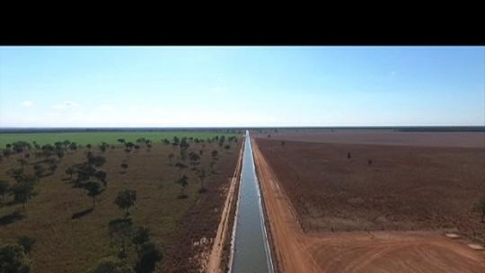 Polícia flagra retirada de água do Rio Araguaia para irrigação; veja vídeo