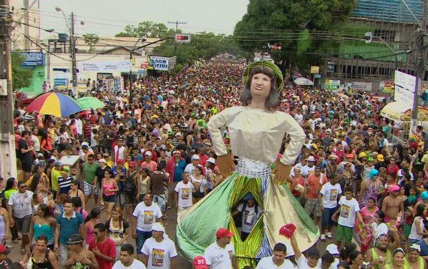 Bloco de sujos de Macapá a Banda (Foto: Reprodução/TV Amapá)