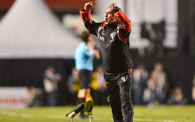 Muricy Ramalho comemoração São Paulo contra Atlético-MG (Foto: Mauro Horita / Ag. Estado)