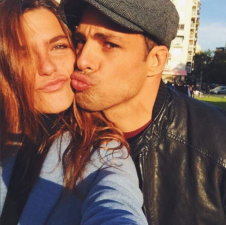 Mari Goldfarb e Cauã Reymond (Foto: Reprodução/Instagram)