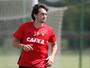 """No Sport, Matheus Ferraz minimiza fase do Santa: """"Competição diferente"""""""