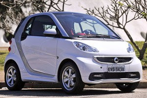 smart fortwo (Foto: Raul Zito/G1)