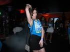 Em pleno carnaval, Monica Iozzi assume solteirice: 'Tô na pista'