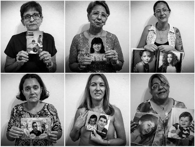 Mães de São Carlos que perderam seus filhos se reúnem para aliviar a saudade (Foto: Fábio Rodrigues / G1)