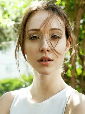 Amanda trabalhava como modelo na China desde o início do ano (Foto: Edson Griza/Arquivo Pessoal)