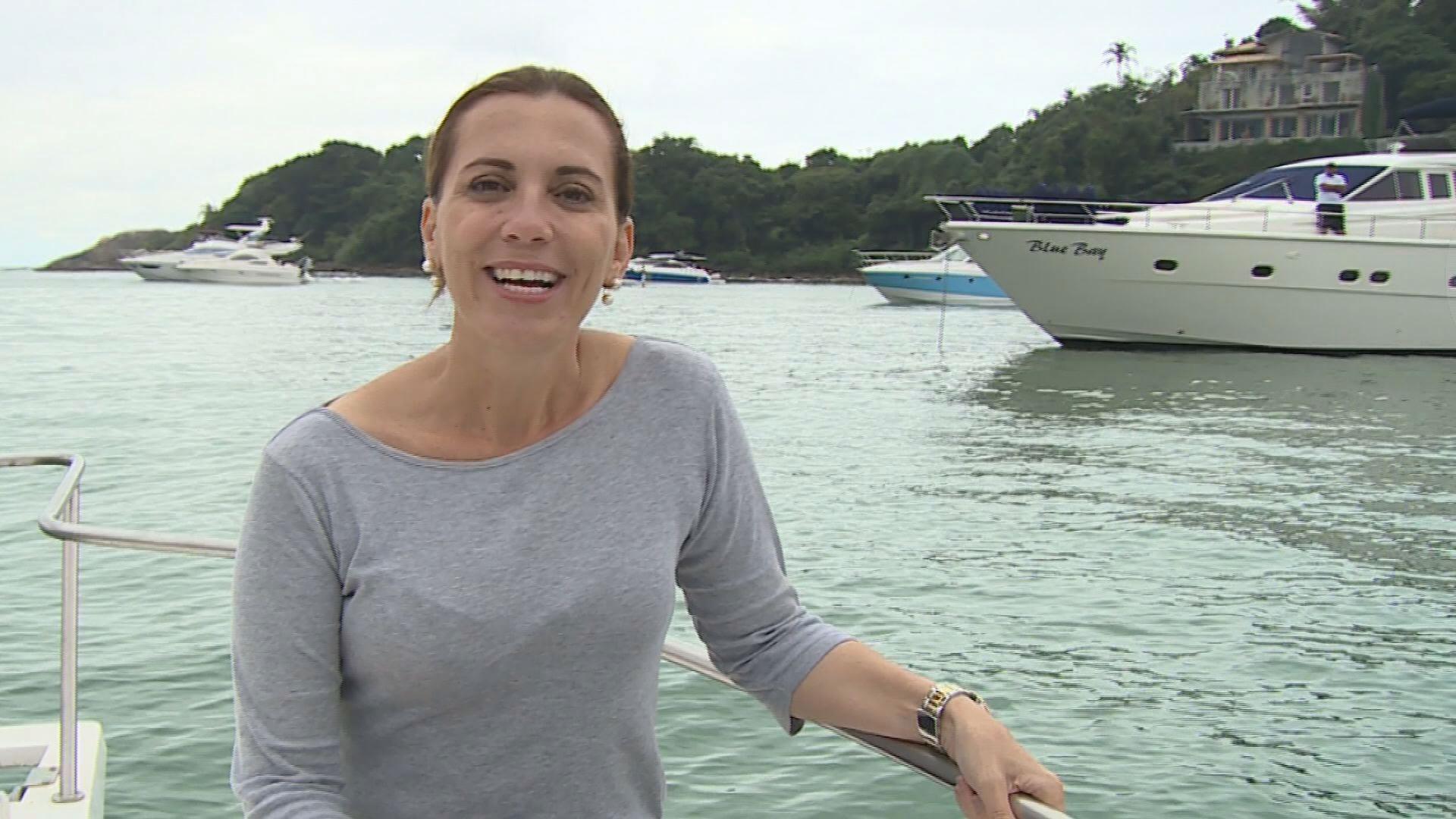 Rosana Valle espera você neste sábado (21) (Foto: Reprodução/TV Tribuna)