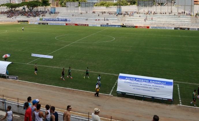 Estádio Joaquinzão Taubaté x Vasco (Foto: Danilo Sardinha/GloboEsporte.com)