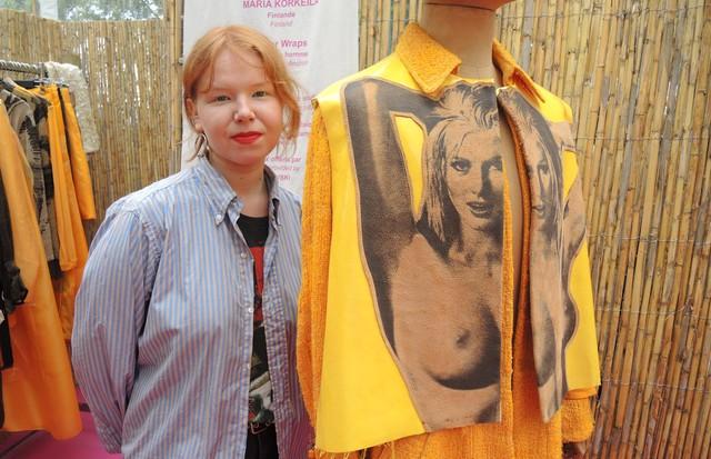Entre outros trabalhos destacados, Maria Korkeila, da Finlândia, recebeu menção honrosa durante a premiação. (Foto: Carlos Augusto Santos)