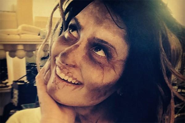 """Em agosto de 2014, Demi já estava postando fotos fantasiada nas redes sociais. """"Nunca é cedo demais para o Halloween"""", escreveu a cantora. (Foto: Reprodução/Instagram)"""