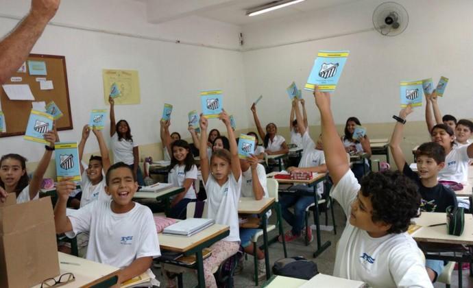 Bragantino nas escolas (Foto: Bragantino/ Divulgação)