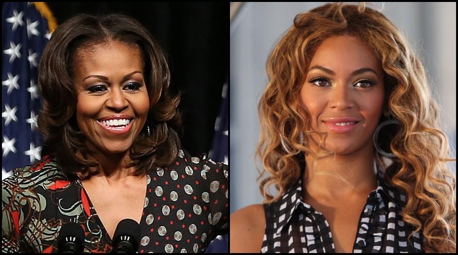 Michelle Obama e Beyoncé (Foto: Reprodução)