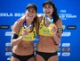 Maria Elisa e Carol Solberg são ouro em Haia; bronze é de Ágatha e Duda