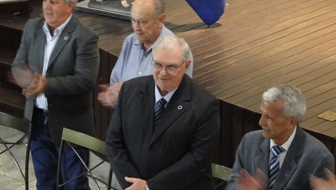 Gilvan de Pinho Tavares, presidente reeleito do Cruzeiro. (Foto: Mauricio Paulucci)