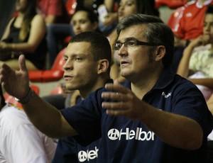 Paco Garcia na Arquibancada (Foto: Thiago Fidelix / Globoesporte.com)