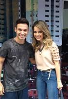 Sandy participa de gravação de 'I Love Paraisópolis'