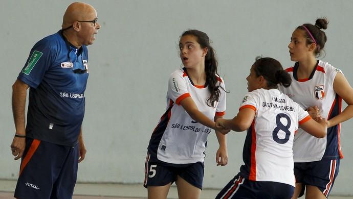 RS, Rio Grande do Sul, Jogos Escolares, Futsal, feminino, projeto, social (Foto: Washington Alves/COB)