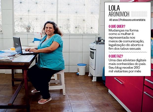 Lola Aronovich (Foto: Jarbas Oliveira/ÉPOCA)