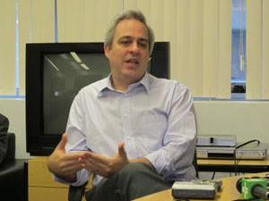 Alexandre Schneider, quando ainda era secretário Municipal de Educação de São Paulo (Foto: Letícia Macedo/G1)