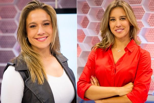 No dia 7 de abril estreia o Rumo à Copa, programa de curiosidades apresentado por Fernanda Gentil e Cristiane Dias (Foto: Globo)