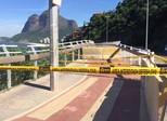 Paes afirma que irá reconstruir ciclovia a tempo de Olimpíadas