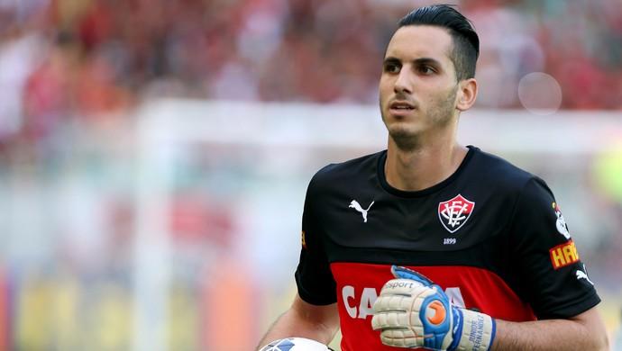 Gatito Fernández; Vitória (Foto: Felipe Oliveira/Divulgação/EC Vitória)