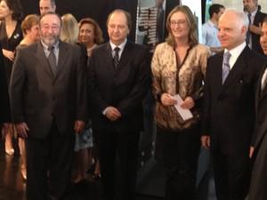 Ministra Maria do Rosário participou de evento sobre o Holocausto no Senado nesta segunda-feira (8).  (Foto: Amanda Lima/G1)