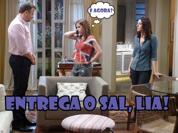 Será que a Lia vai contar a vdd pro Olavo???  (Foto: Malhação / Tv Globo)