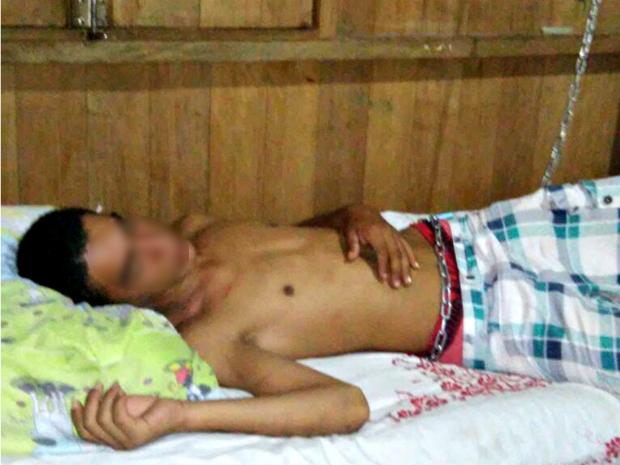 Mãe quer internar filho compulsoriamente em Rio Branco  (Foto: Arquivo pessoal )