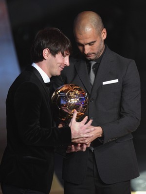 Messi Guardiola Barcelona (Foto: Getty Images)