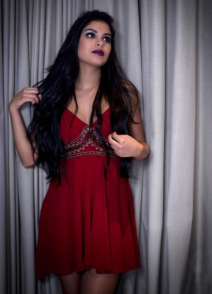 Em entrevista, Munik revela que sempre foi paquerada (Foto: Raphael Dias/Gshow)