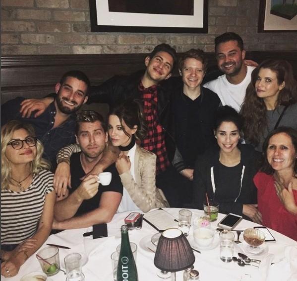 Kate Beckinsale e amigos (Foto: Reprodução Instagram)