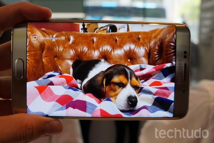 Galaxy S6 Edge Plus está à venda por R$ R$ 3.999 (Foto: Thássius Veloso/TechTudo)