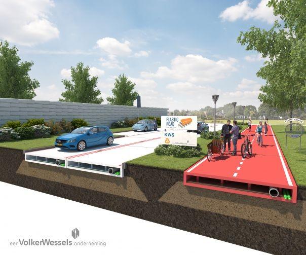 Empresa quer pavimentar ruas com plástico recolhido em oceanos