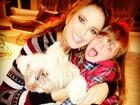 Ticiane Pinheiro posa com a filha, Rafa Justus: 'Amo absurdamente'