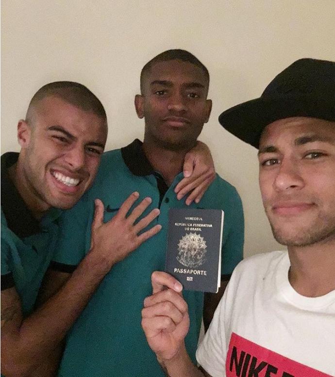 Neymar Marlon passaporte