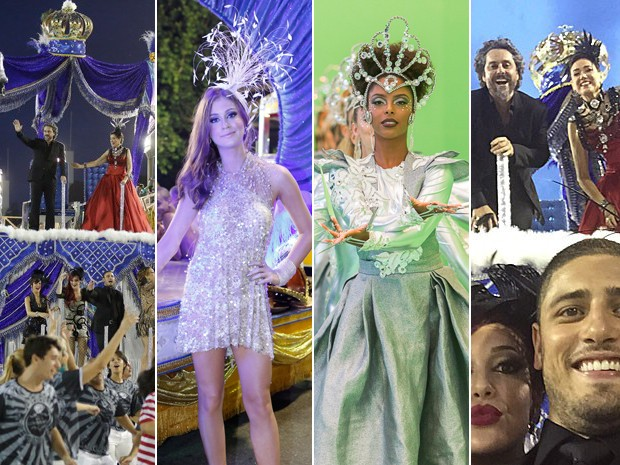 Show de figurinos, coreografia, selfies... Confira o que rolou no Carnaval de Império (Foto: Gshow)