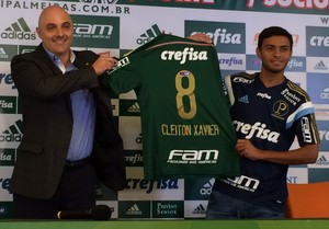 Cleiton Xavier Palmeiras (Foto: Felipe Zito)